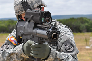 Testing the new XM-25 weapon system | by The U.S. Army