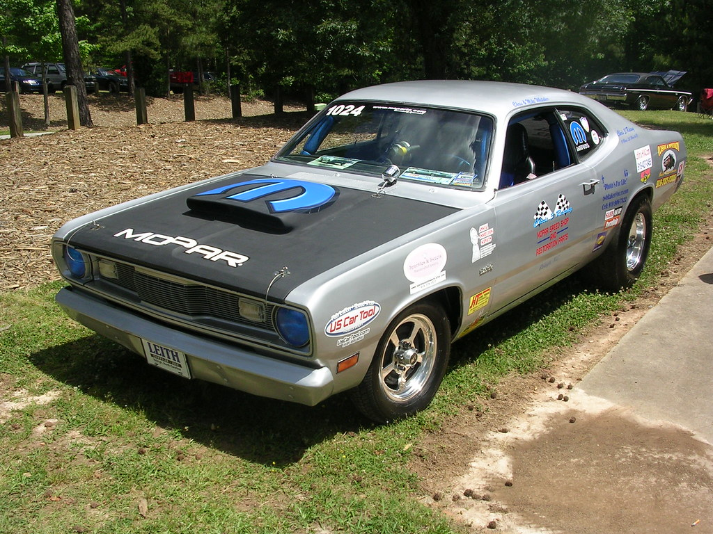 1970 plymouth duster drag car mitch prater flickr. Black Bedroom Furniture Sets. Home Design Ideas