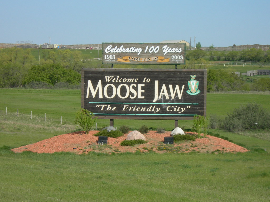 Canada >> Welcome to Moose Jaw | Moose Jaw, SK This was taken as we we… | Flickr