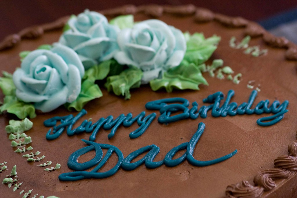 Cake Ideas For Source Happy Birthday Dad My Celebrated His 75th R Flickr
