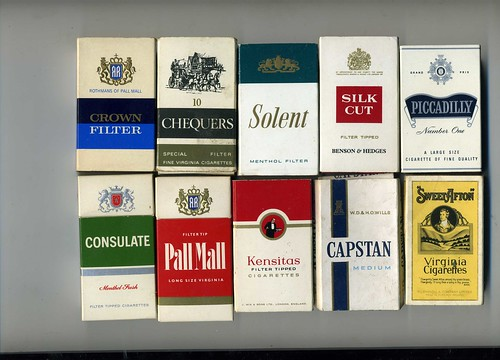 The Virtual Tobacconist Uk Cigarette Brands Packets Of