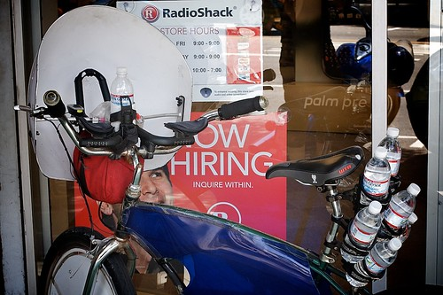 Lone Wolf At Radio Shack | by Gary Rides Bikes
