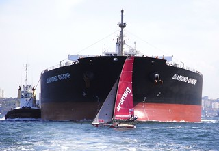 18 footer crossing too close | by NSW Maritime