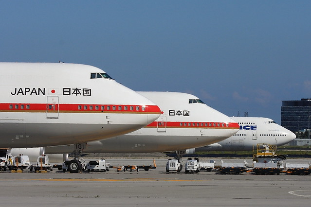 Japan air force 747 japanese emperor akihito and empress for Force interieur