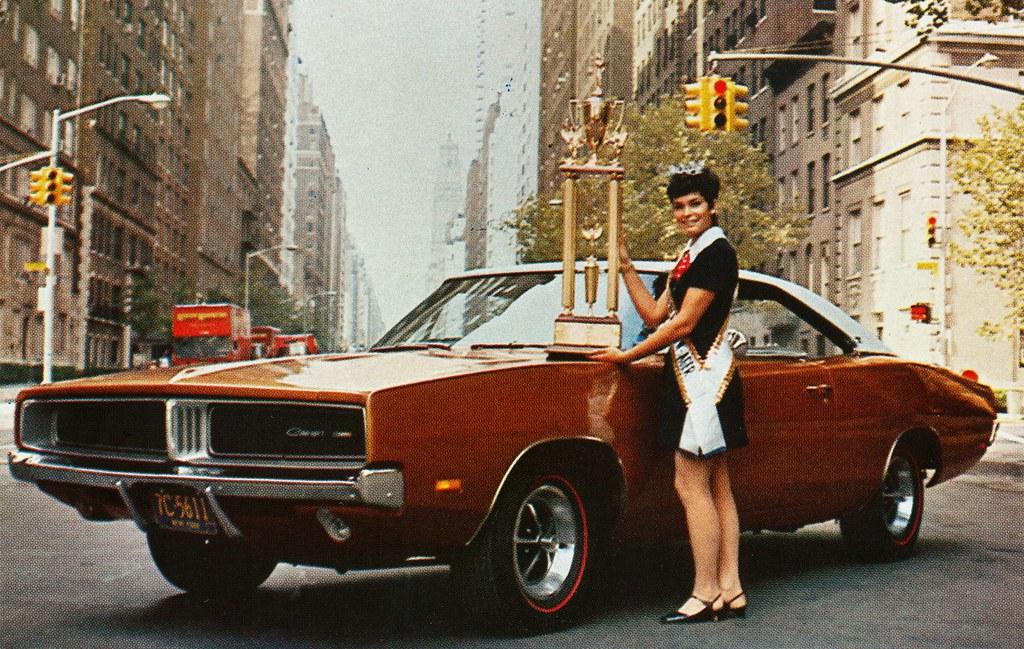 1969 Dodge Charger & Miss American Teen-Ager | Fran Garten ...