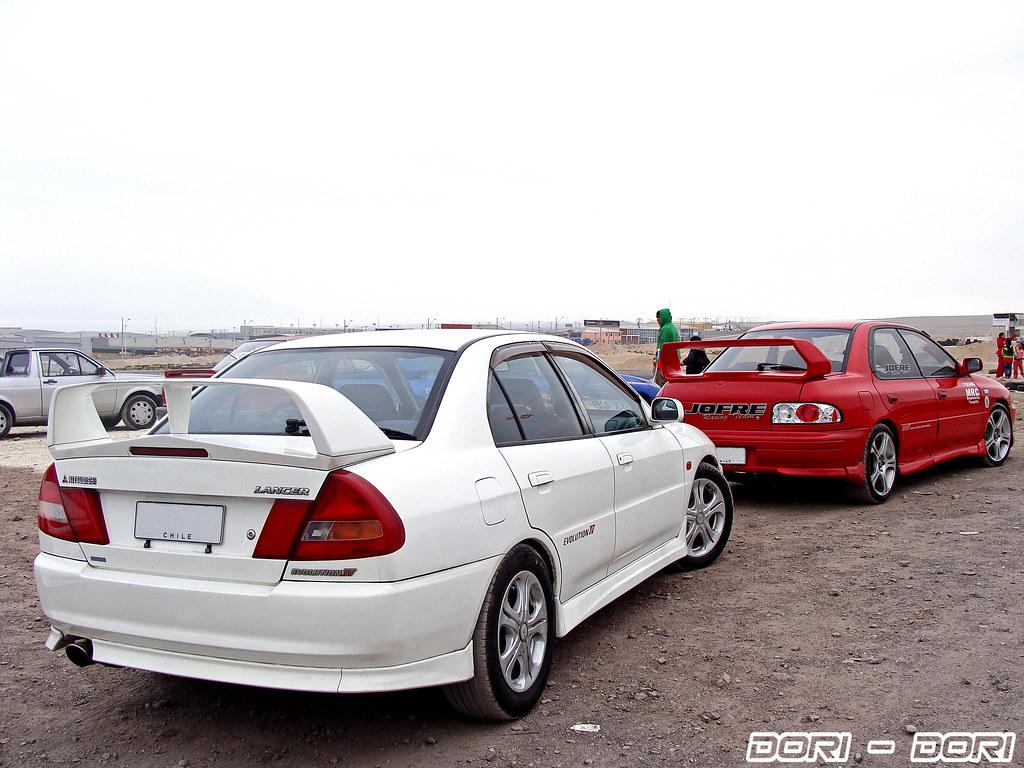 Mitsubishi Lancer Evolution Iv Gsr Amp Subaru Impreza Wrx St