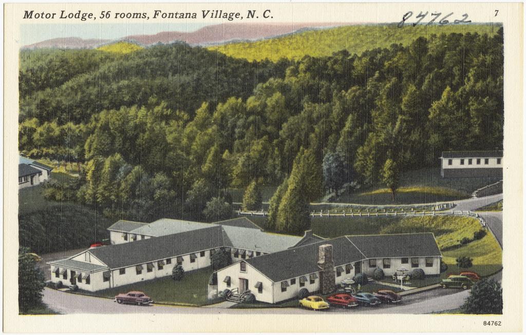 Motor lodge 56 rooms fontana village n c file name for Fontana motor lodge fontana ca