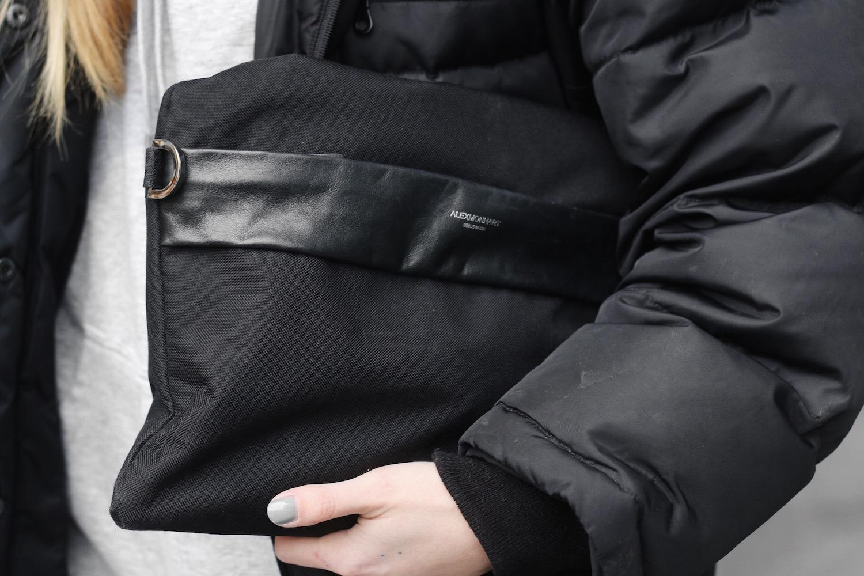 9383592456 SECOND HAND jacket. H M hoodie. TOPMAN top.