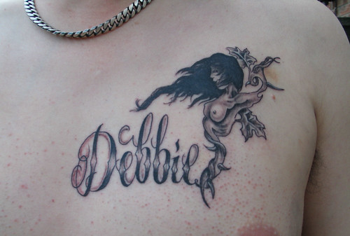 Debbie chest tattoo | by Jason & Debbie