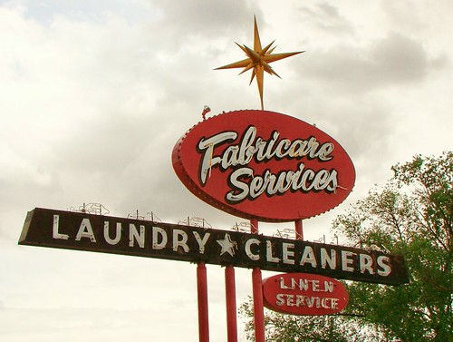 CO, Grand Junction-U.S. 6 Fabricare Services Laundry Sign | by Alan C of Marion,IN