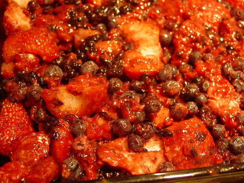Berry Crisp With Cake Mix And Frozen Berries