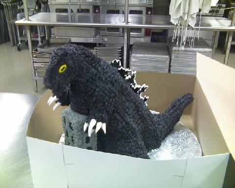 Godzilla Cake Pan
