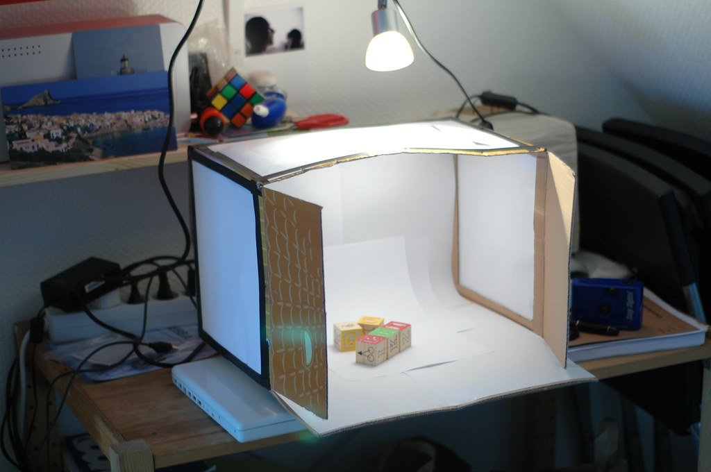 Diy Studio Box You Will Love It I Got The Idea From