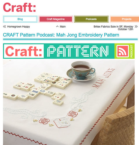 Free Mah Jong Embroidery Pattern From Sublime Stitching | by average_jane_crafter