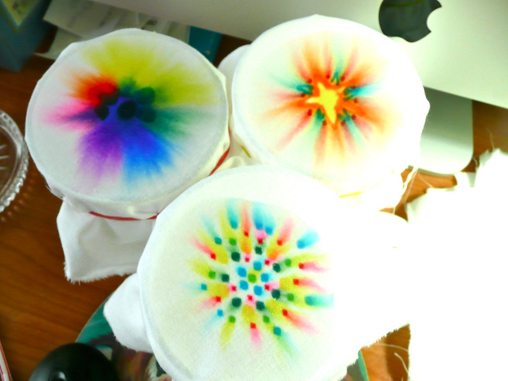 how to draw tie dye with sharpies