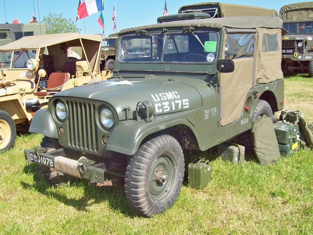 129 Willys M38A1 Jeep (1964)   Willys M38A Jeep (1955-65 ...