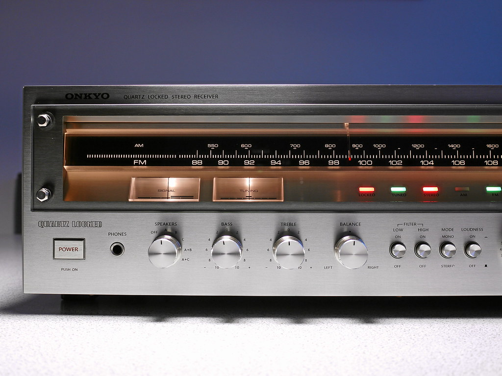 onkyo tx 4500 mkii stereo receiver 1977 the stereo r flickr