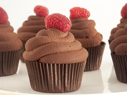 Cupcakes de chocolate | by IFeelCook