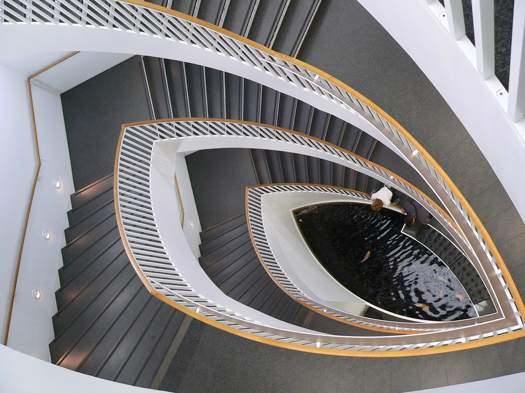 ... Staircase At Chicagou0027s Museum Of Contemporary Art | By Pov_steve