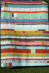 picnic stripes quilt | by filminthefridge