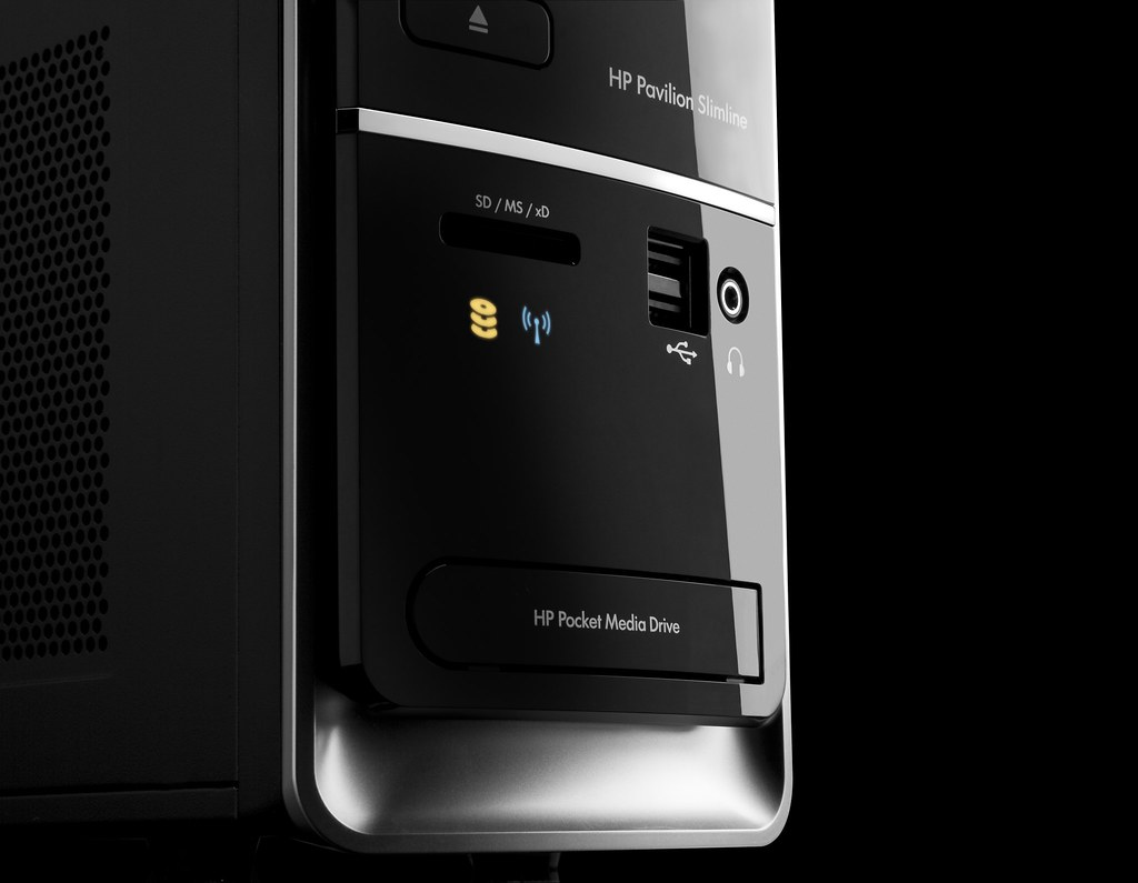 ... Detail close-up of HP Pavilion Slimline s5000 | by HP Hewlett-Packard