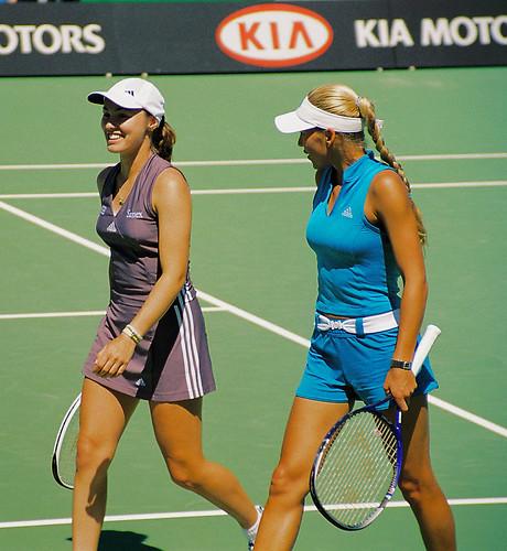 Anna Kournikova & Martina Hingis Doubles Pair | Anna Kournik ...