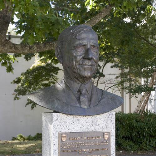 Portrait Bust of Dr. Norman A. M. Mackenzie   Jack Harman ...