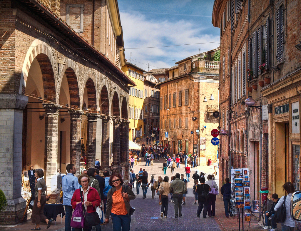Urbino Italy Pictures in Urbino Italy From The