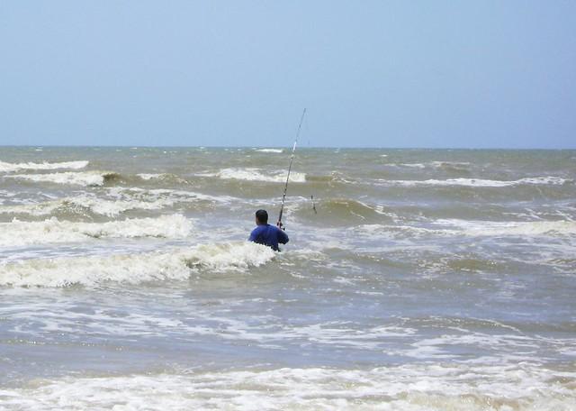 Surf Fishing Galveston Island State Park