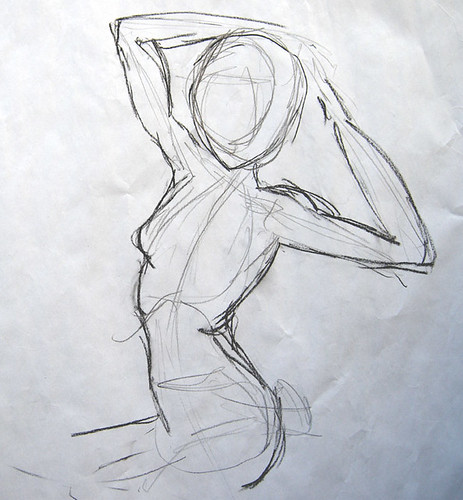 Famous Abstract Line Art : Almost abstract life drawing class at cofa with stavros