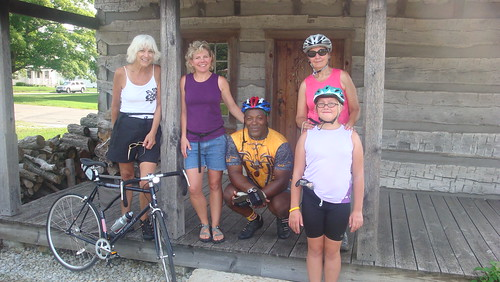 Sarah, George, Ginny, Kathy, Mary, Rose | by Adventure Cycling Association