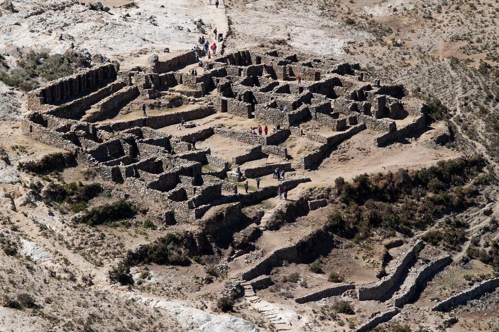 Inca Ruins On Isla Del Sol Taken In Isla Del Sol