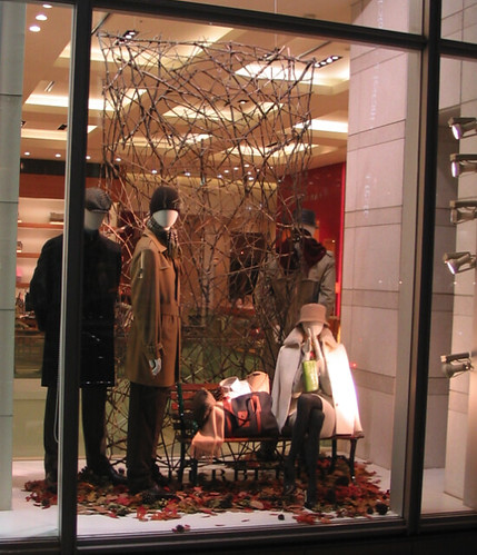 Fall Store Decor Retail Window Display