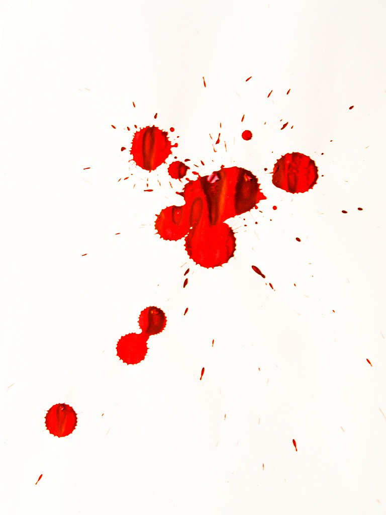 Blood Splatter Tanakawho Flickr