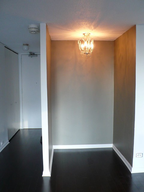 ... Niche W / IKEA Kristaller (hacked/modified) To Replace Standard  Porcelain Closet Light