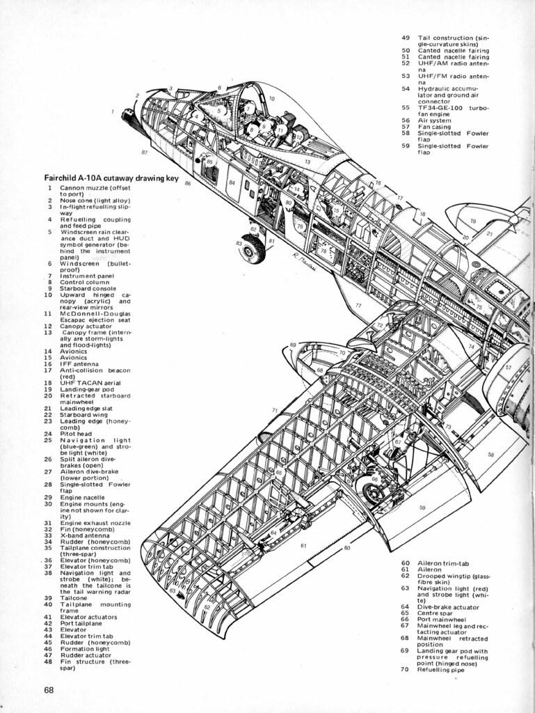 sr 71 engine diagram republic a 10 warthog cutaway front david rider flickr  republic a 10 warthog cutaway front david rider flickr