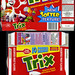 Betty Crocker - Trix - fruit snacks box - 1997