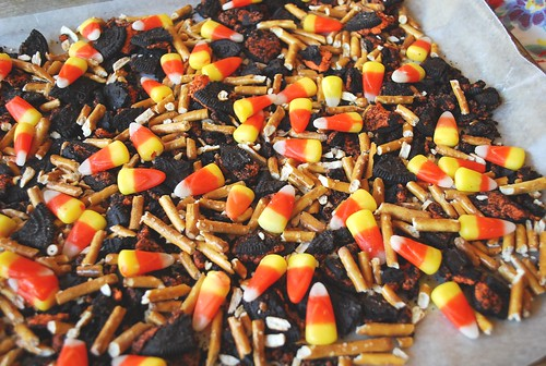Candy Corn Bark | by yourhomebasedmom