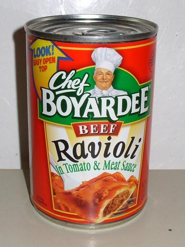 how to make chef boyardee ravioli
