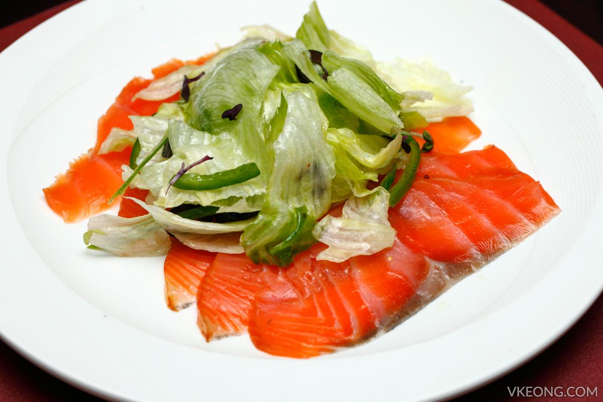 Brasserie 25 Smoked Salmon Salad