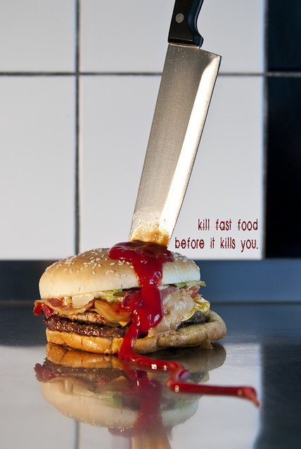 fast food kills Fast food may be unhealthy not only because of its processed ingredients and huge portions -- it can also kill off beneficial gut bacteria that.