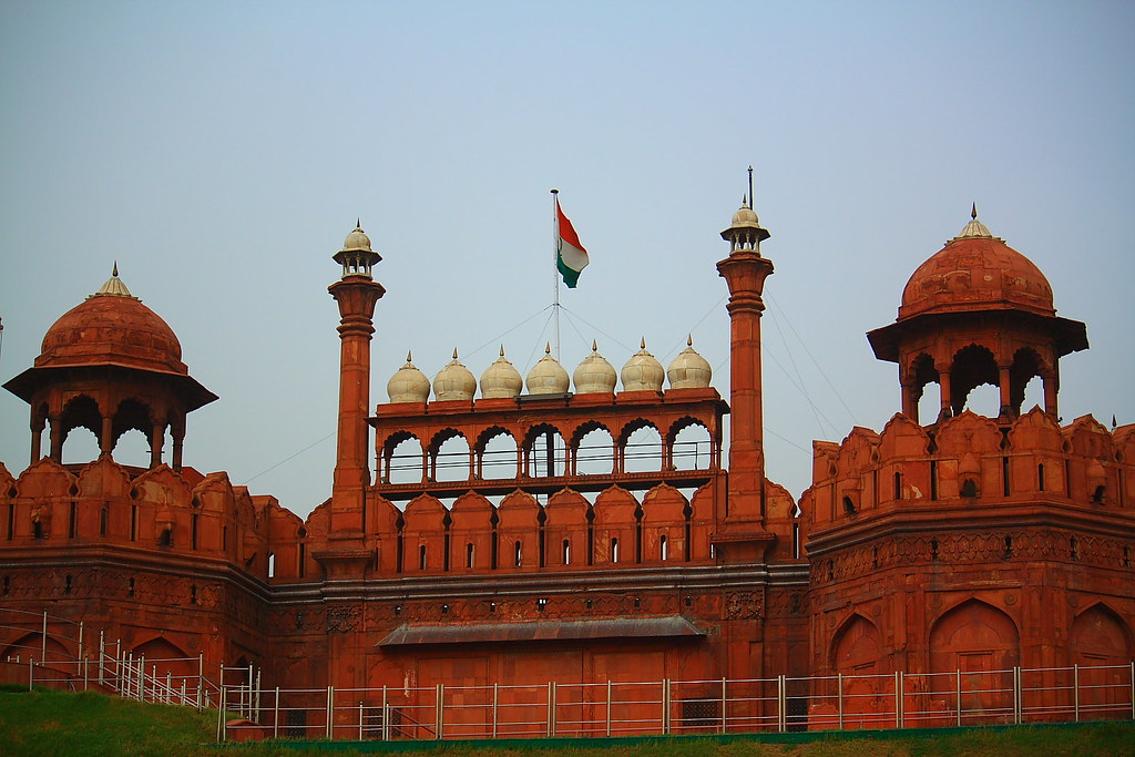 Who Built Red Fort in Delhi Red Fort Built in 1648 by