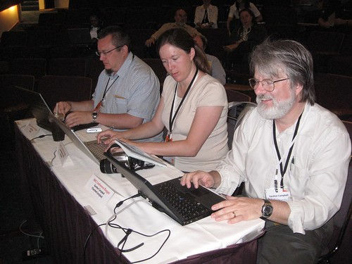Conference Bloggers at Work | by cogdogblog