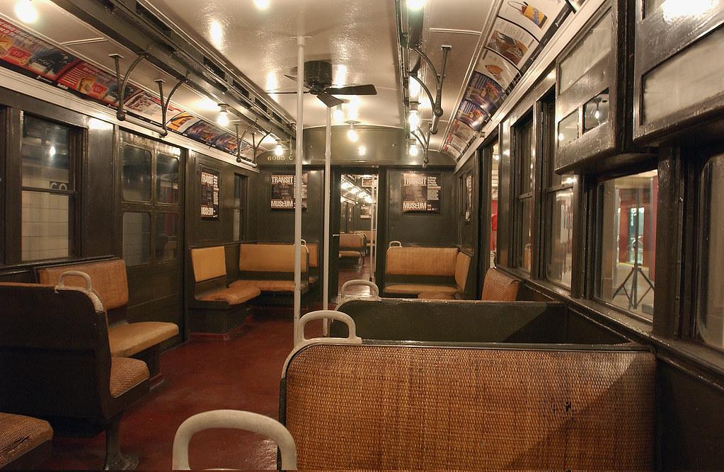 interior bmt d type triplex car number 6095 a b c 1927 flickr. Black Bedroom Furniture Sets. Home Design Ideas