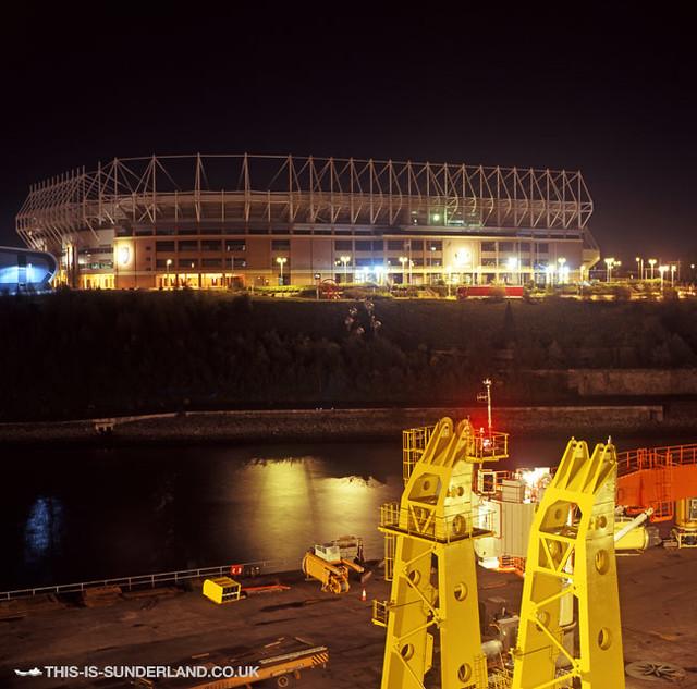 Stadium Of Lights: Sunderland Stadium Of Light - Night