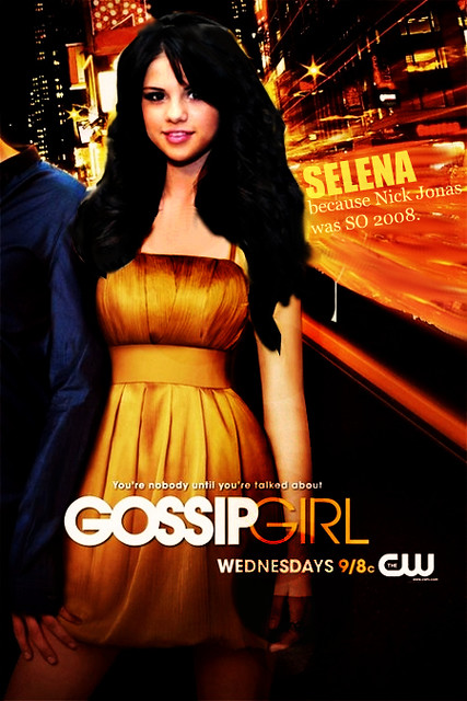 gossip girl poster   selena gomez this was hard and i m