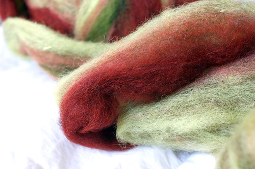 Rhinebeck Fiber: Triple R Farm wool roving | by QueenieVonSugarpants