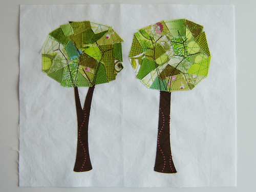 Mod Trees Quilt Block | by Marci Girl Designs