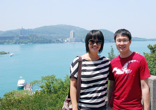 me and allen at sun moon lake | by hopemeng