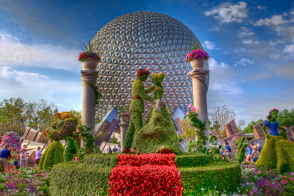 Wdw april 2009 epcot flower and garden festival epcot - Epcot flower and garden concerts ...